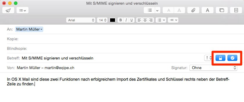 Screenshot Apple Mail